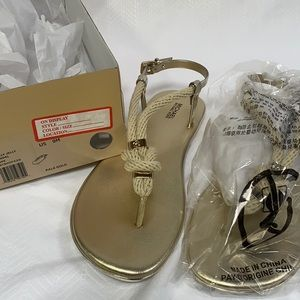 Michael Kors Holly Jelly Sandal Rope Sandals New